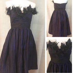 Maggy London purple evening dress